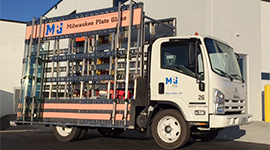 Milwaukee Plate Glass Truck